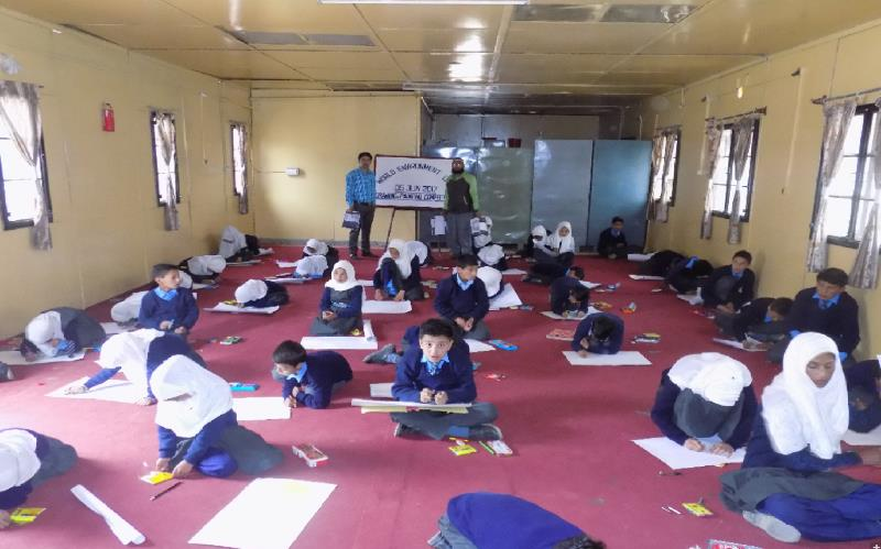 DRAWING COMPETITION ON WORLD ENVIRONMENT DAY